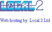 Web hosting by  Local 2 Ltd